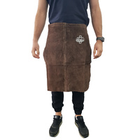 Leather Welding Apron - Half Apron - Split Cowhide