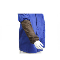 Welders / Welding Leather Sleeves -  40cm long - Gun Gear
