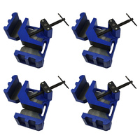 4 x 4.5 inch Corner Clamp 90 Degree Angle Vise - Welding - Wood - Frame