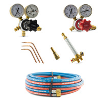 Oxygen and Acetylene Gas Brazing Kit