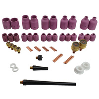50 Piece BIG TIG Gas Lens Combo - WP9 | 20 - Variety Pack
