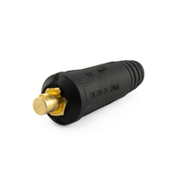 Cable Plug Welding Male Connector 10-25 DINSE 100-200 Amp
