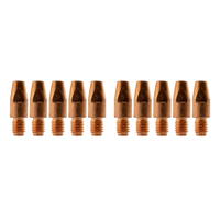 Binzel Style MIG Contact Tips 1.6mm - 10 pack - M8 x 10mm x 1.6mm