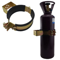Gas Bottle Holder | Restraint (Size 146mm - 162mm) Suits D Size Steel