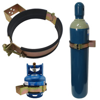 Gas Bottle Holder | Restraint (Size 203mm - 222mm) Suits E Size Welding Bottle Steel
