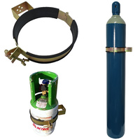 Gas Bottle Holder | Restraint (Size 229mm - 248mm) Suits G Size Welding Bottle Steel