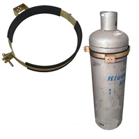Gas Bottle Holder | Restraint (Size 368mm - 387mm) Suits 45kg LPG Gas Tank Steel