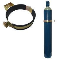 Gas Bottle Holder | Restraint (Size 216mm - 229mm) Suits G Size Welding Bottle Steel