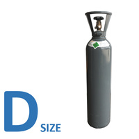 Nitrogen D Size Gas Cylinder - No Rental Fee