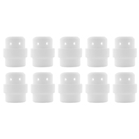 Binzel Style MIG Gas Diffuser - MB24 - White Ceramic - 10 Pack