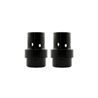 Gas Diffuser MIG  - MB26 - Long Life - Black Duroplast - 2 Pack - Binzel Style