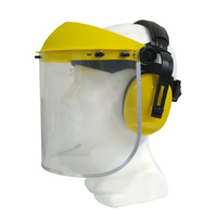 Maxisafe Medium Impact Visor with Earmuffs