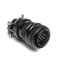 Male Tuchel Socket plug 14 Pol Pin To Suit Miller Maxstar 200
