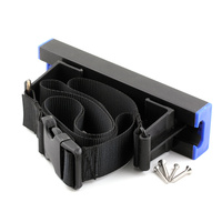 Square Bottle Holder Restraint 200mm Track | 1200mm Strap