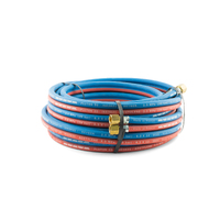 10 meter Oxy Acetylene Twin Hose with fittings