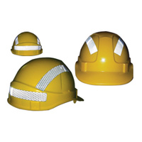 Hard Hat Reflective Sticker Kit - 3 Stickers