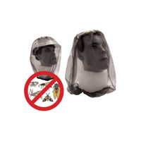 Mosquito Insect Fly Head Net - Fishing - Black - Elastic Neck