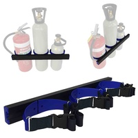 Gas Bottle Holder Restraint 600mm Track | 3x 900mm Strap