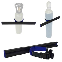 Gas Bottle Holder Restraint 600mm Track | 900mm Strap