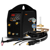 UNIMIG Razor Digital Pulse ACDC 200 Amp Inverter TIG Welder