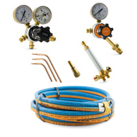 Oxygen and LPG Gas Brazing Kit