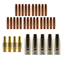 Mig MB15 Conical LH Bulk Kit 35 Piece KIT - 1.2mm - Binzel Style