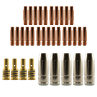 Mig MB15 Conical RH Bulk Kit 35 Piece KIT - 1.2mm - Binzel Style