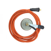 200A Earth Clamp And Lead - 16 Meter - 10-25 Small plug