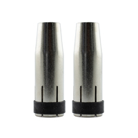 2 x MIG Nozzle / Shroud MB24 Conical - Binzel Style