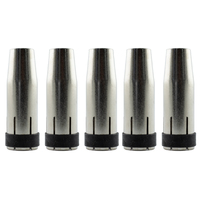 5 x MIG Nozzle / Shroud MB24 Conical - Binzel Style