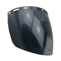 2mm Smoke Face Shield - Extra High Impact - Smoke / Dark Lens Replacement