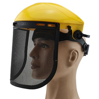 Brow Guard with Wire Mesh Screen Shield - Head and Face Protection