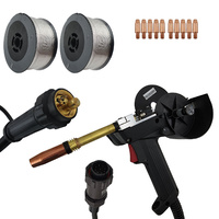 Unimig MIG Spool Gun 8m 240 Amp - Euro 9 Pin - Aluminium Value Pack
