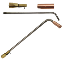 Super Heating Tip Acetylene - 8 x 12 - SHA1 with Mixer + 450mm Barrel