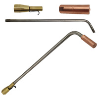 Super Heating Tip Oxy / Acetylene - Size 12 x 12mm - SHA2 with Mixer + 450mm Barrel