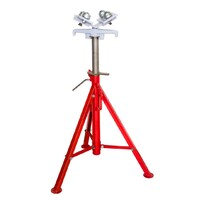 Welding Pipe Stand roller head - Folding Sumner style- SWL 1200kg Jack 1.2 ton