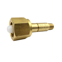 "Harris 801 Nitrogen Snap Safe Stem and Nut - 1/4"" NPT Thread"