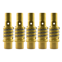 MB15 Binzel Style MIG Tip Holder Adapter - 5 Pack