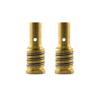 MIG Tip Holder / Adapter - MB15 - 2 Pack - Binzel B1507 - R/H Short