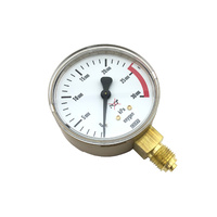Harris Oxygen Pressure Gauge 0-30,000KPA to suit 800 Series Regulators
