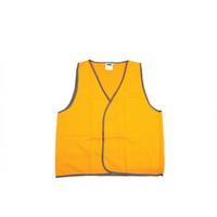 10 x Hi Viz Orange Day Only Safety Vest - Size XXL