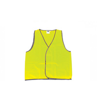 10 x Hi Viz Yellow Day Only Safety Vest - Size Medium