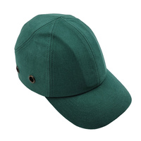 Dodge Bump Cap - 70mm Peak - Green - Head Protection Hard Hat