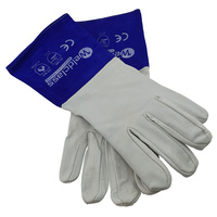 6 x Weldclass Platinum Soft Skin Tig Welders Gloves