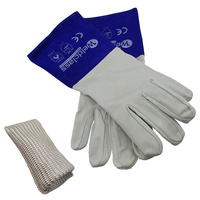 Weldclass Platinum Soft Skin Tig Welders Gloves + TIG Finger