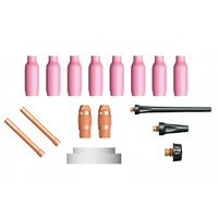 TIG Standard Collet Body Kit 15 Piece KIT | 2.4mm |WP SR 9/20
