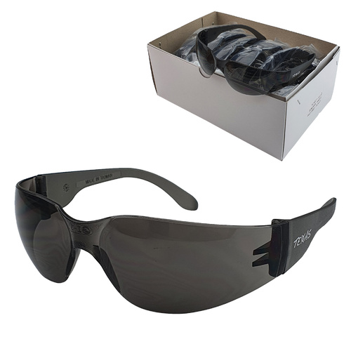 Industrial Safety Glasses - Cobra - 1 Pair - Smoke