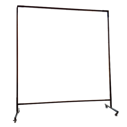 1.8 x 1.8m Frame for Welding Curtain / Screen on Wheels