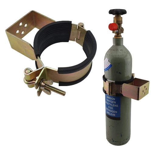 Gas Bottle Holder | Restraint (Size 100mm - 114mm) Suits C Size Steel
