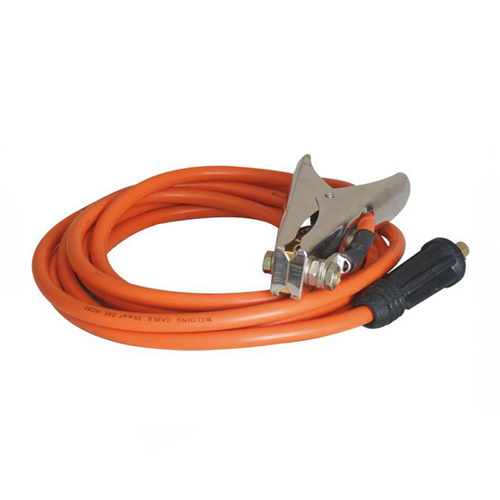 230A Earth Clamp And Lead HD - 5 Meter - 10-25 Small plug